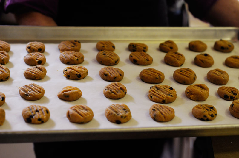 Image of Gluten- Free Chocolate Chip Chickpea cookies